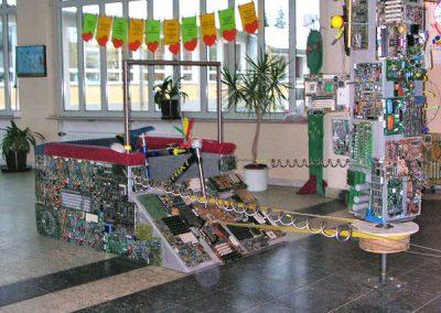 Schulprojekt Mozartschule - Arbeit mit Schülern