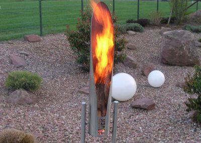 Die Feuerskulptur